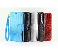 Alligator Belt Rope Wallet PU Case with Stand for Huawei Ascend Y550(Assorted Colors)