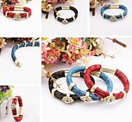 Fashion Simpleness Alloy Drill Handmade Bracelet
