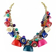Beautiful Colorful Different Charm Necklace