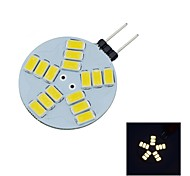G4 3W 15X5730SMD 290LM 2800-3200K Warm WhiteLight LED Spot Bulb D12V