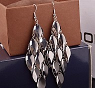 2015 Smooth Surface Fish Scales Are Ms. Long Earrings