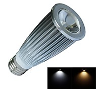 JIAWEN® E27 9W 1XCOB 800LM 3000-3200K/6000-6500K Warm White/Cool White LED Spot Lights (AC 100-240V)