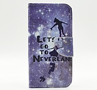 Silver and Children Pattern PU Leather Full Body Case with Stand and Card Holder for iPhone 6