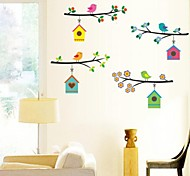 The Home Of a Bird Wall Stickers