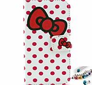 tampa da caixa - Arte Gráfica/Design Especial - Pele PU/TPU - Capas de Corpo Inteiro - para LG L70