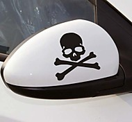 Car Stickers with Skull Bone Car Styling