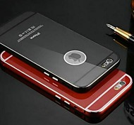 KXX Luxury Mobile Phone Case for 5.5 Inch Apple 6 Plus The Ultra-thin Metal Frame+Acrylic PC Cover for iPhone 6 Plus