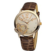 Women's Bracelet Watch Quartz Analog Romantic Heart shape Gift