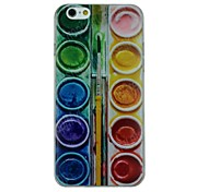 Multicolor Colors Pattern Ultrathin TPU Soft Back Cover Case for iPhone 6/6S