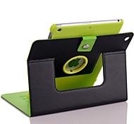 360⁰ Casos/Casos de Origami ( Cuero PU , Negro/Azul ) - de Diseño Especial para Manzana iPad Air 2