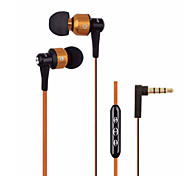 Auriculares ( Micrófono/Control de volumen/Auriculares/Cancelación de Ruido ) Con cable para Manzana In-Ear