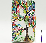 The Tree of Life Pattern PU Leather Case Cover with A Touch Pen ,Stand and Card Holder for Nokia Lumia 530