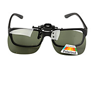 Polarized Rectangle PC Clip-on Sunglasses Lenses