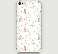 Magpie Pattern Back Case for iPhone 6