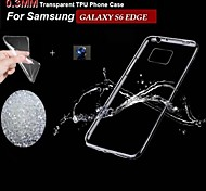 Samsung Samsung Galaxy S6 edge - Custodie per retro - Tinta unita - Cellulari Samsung Silicone/TPU )