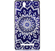 Blue and White Pattern PC Hard Case for Sony C3