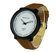 Men's Dress Watch Quartz Analog(Assorted Colors)