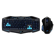 Midiao X-31A+X-9 USB Wired Optical Gaming Keyboard Mouse Kit