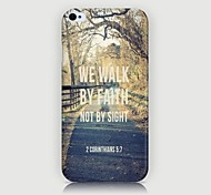 Elevated Road  Pattern Back Case for iPhone4/4S