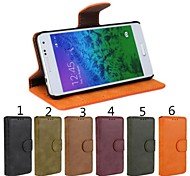 frosted iines colo pu case met standaard voor Samsung Galaxy Ace 4 g313h