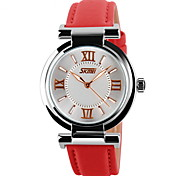 Women Luxury Brand Fashion Leather Strap Quartz Watch
