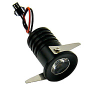 CC-131-B1 1W  1xHigh Power 120Lm 6000K White Light LED Embedded Small Spotlight AC90-260V