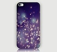 Luminescence Pattern Back Case for iPhone4/4S