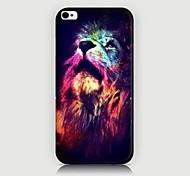 Funda Trasera - Gráficas/Diseño Especial/Innovador/Animal - para iPhone 4/4S/iPhone 4 ( Multicolor , Plástico )