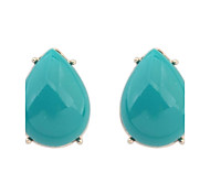 Women's EU&US Fashion Water Drop Shape All Match Stud Earrings
