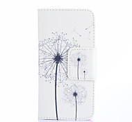 Painted White Dandelion Phone Case for Samsung Galaxy J1