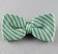 Gravata Borboleta (de Roupa de Malha , Verde) - Vintage/Pesta/Trabalho/Casual