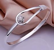 Bracelets Rigides 1pc,Argent Bracelet Argent sterling Bijoux Femme