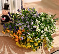 "12.6""L Set of 1 5 Limbs Gypsophila Silk Cloth Flowers"