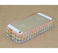Metal Diamond Specially Designed Protection Hard Bumper Frame for iPhone 5/5S (Assorted Color)