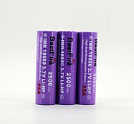 BestFire 18650 3.7V 2500mAh Rechargeable Battery (3Pack)