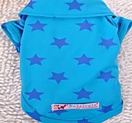 Hunde T-shirt / Shirt Blau / Gelb / Rose Sommer Sterne Cosplay