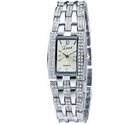 Women's Rectangle Bracelet Watch Quartz Analog Vintage