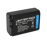 1500mAh 7.4V NP-FW50  Camcorder Battery Pack for Sony NEX-3/A35/A37