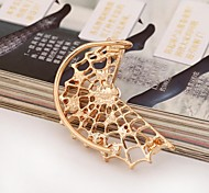 A Spider's Web Set Auger Ear Cuffs