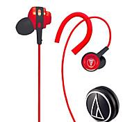 новые супер качество низких частот Audio-Technica cor150 в ухо гарнитуру наушником для Iphone 6/6 плюс