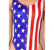 Women's Sexy Stars and Stripes Swimwear