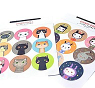 multifunções baking estilo coreano de vedação adesivos decorativos de DIY (2 * 9 de adesivos / pcs)