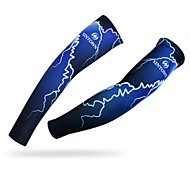 WEST BIKING® Cycling Waterproof Breathable Wicking UV Protection Polyester Lightning Cycling Armsleeve