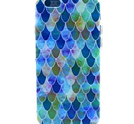 Dream Scales Pattern TPU Soft Cover for iPhone 6