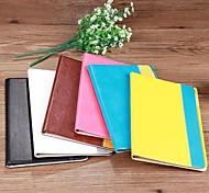 Colorata - Mela iPad 2/iPad 1/iPad 3/iPad Air/iPad Air 2 - DI Vera pelle - Nero/Bianco/Blu/Marrone/Giallo/Rosa