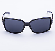 Polarized Oversized Plastic Retro Sunglasses
