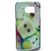 Towel Cake Candy Pattern Hard Case Cover for Samsung Galaxy S6
