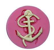 mini ancoraggio in silicone muffa della torta stampo in silicone di decorazione per fondente fimo cioccolatino sm-472
