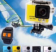 Camcorder - 5.0 MP CMOS - 2.0 Polegadas - 8X - Full HD/Ângulo Largo/1080P/Anti-Choque - Tela
