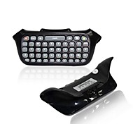 Text Messenger Chatpad Keyboard for XBOX 360 Wireless Controller Keypad for Microsoft XBOX360 Joystick (Black)